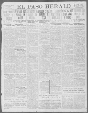 Primary view of object titled 'El Paso Herald (El Paso, Tex.), Ed. 1, Wednesday, May 8, 1912'.