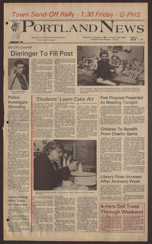 Portland News (Portland, Tex.), Vol. 20, No. 49, Ed. 1 Thursday, December 4, 1986