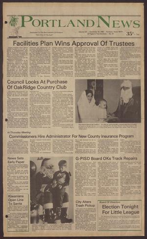 Portland News (Portland, Tex.), Vol. 20, No. 51, Ed. 1 Thursday, December 18, 1986