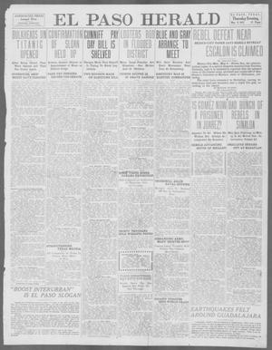 Primary view of object titled 'El Paso Herald (El Paso, Tex.), Ed. 1, Thursday, May 9, 1912'.