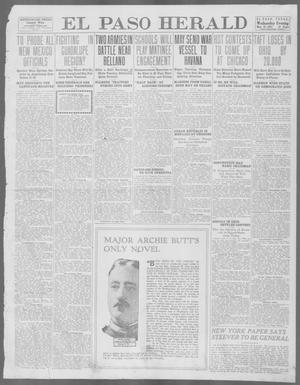 Primary view of object titled 'El Paso Herald (El Paso, Tex.), Ed. 1, Wednesday, May 22, 1912'.