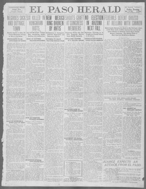 Primary view of object titled 'El Paso Herald (El Paso, Tex.), Ed. 1, Friday, May 24, 1912'.