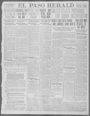 Primary view of object titled 'El Paso Herald (El Paso, Tex.), Ed. 1, Saturday, May 25, 1912'.