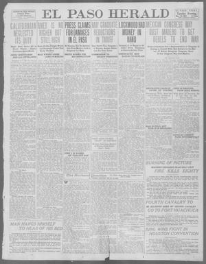 Primary view of object titled 'El Paso Herald (El Paso, Tex.), Ed. 1, Tuesday, May 28, 1912'.