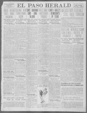 Primary view of object titled 'El Paso Herald (El Paso, Tex.), Ed. 1, Friday, May 31, 1912'.