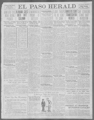 Primary view of object titled 'El Paso Herald (El Paso, Tex.), Ed. 1, Friday, June 7, 1912'.