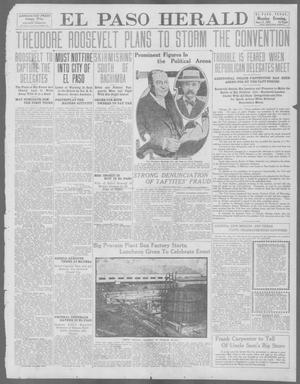 Primary view of object titled 'El Paso Herald (El Paso, Tex.), Ed. 1, Monday, June 17, 1912'.