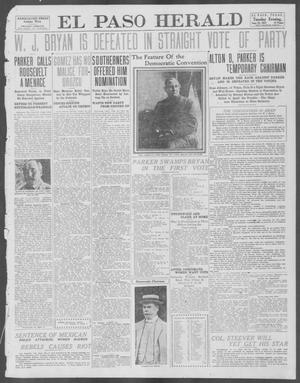 Primary view of object titled 'El Paso Herald (El Paso, Tex.), Ed. 1, Tuesday, June 25, 1912'.