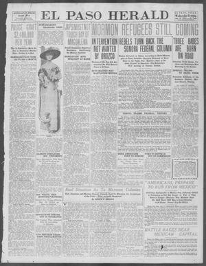 Primary view of object titled 'El Paso Herald (El Paso, Tex.), Ed. 1, Wednesday, July 31, 1912'.