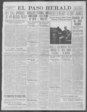 Primary view of object titled 'El Paso Herald (El Paso, Tex.), Ed. 1, Friday, August 2, 1912'.