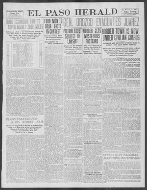 Primary view of object titled 'El Paso Herald (El Paso, Tex.), Ed. 1, Friday, August 16, 1912'.