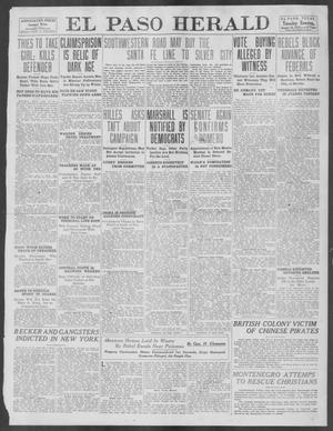 Primary view of object titled 'El Paso Herald (El Paso, Tex.), Ed. 1, Tuesday, August 20, 1912'.
