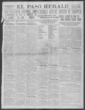 Primary view of object titled 'El Paso Herald (El Paso, Tex.), Ed. 1, Saturday, August 24, 1912'.