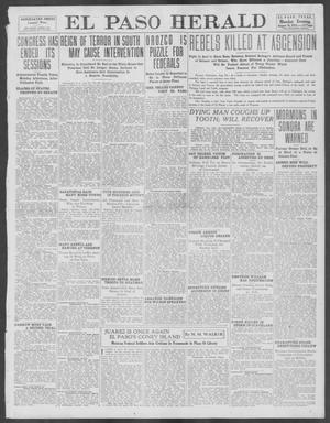 Primary view of object titled 'El Paso Herald (El Paso, Tex.), Ed. 1, Monday, August 26, 1912'.