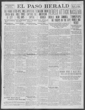 Primary view of object titled 'El Paso Herald (El Paso, Tex.), Ed. 1, Monday, September 2, 1912'.