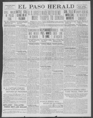 Primary view of object titled 'El Paso Herald (El Paso, Tex.), Ed. 1, Friday, September 6, 1912'.