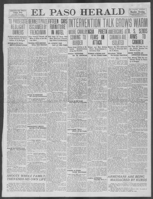 Primary view of object titled 'El Paso Herald (El Paso, Tex.), Ed. 1, Monday, September 9, 1912'.