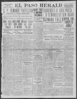 Primary view of object titled 'El Paso Herald (El Paso, Tex.), Ed. 1, Wednesday, September 11, 1912'.