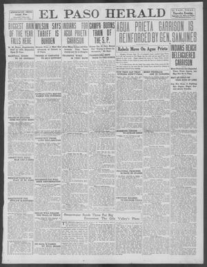 Primary view of object titled 'El Paso Herald (El Paso, Tex.), Ed. 1, Thursday, September 12, 1912'.