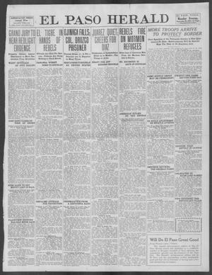 Primary view of object titled 'El Paso Herald (El Paso, Tex.), Ed. 1, Monday, September 16, 1912'.