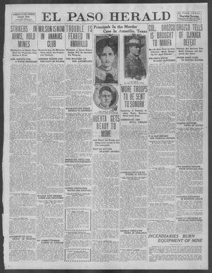 Primary view of object titled 'El Paso Herald (El Paso, Tex.), Ed. 1, Thursday, September 19, 1912'.