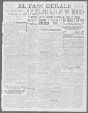 Primary view of object titled 'El Paso Herald (El Paso, Tex.), Ed. 1, Monday, October 14, 1912'.