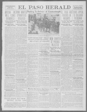 Primary view of object titled 'El Paso Herald (El Paso, Tex.), Ed. 1, Thursday, November 14, 1912'.