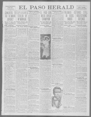 Primary view of object titled 'El Paso Herald (El Paso, Tex.), Ed. 1, Friday, November 22, 1912'.