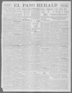 Primary view of object titled 'El Paso Herald (El Paso, Tex.), Ed. 1, Saturday, November 23, 1912'.