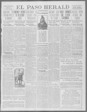 Primary view of object titled 'El Paso Herald (El Paso, Tex.), Ed. 1, Friday, December 13, 1912'.