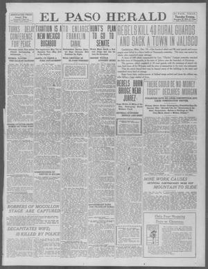 Primary view of object titled 'El Paso Herald (El Paso, Tex.), Ed. 1, Thursday, December 19, 1912'.
