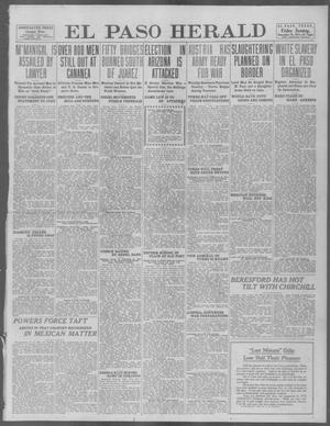 Primary view of object titled 'El Paso Herald (El Paso, Tex.), Ed. 1, Friday, December 20, 1912'.