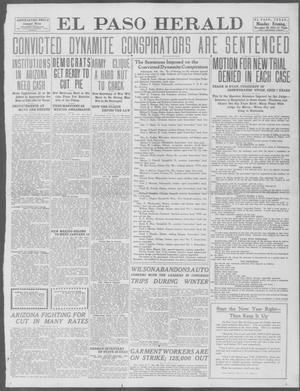 Primary view of object titled 'El Paso Herald (El Paso, Tex.), Ed. 1, Monday, December 30, 1912'.