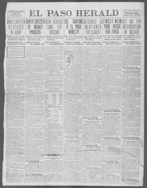 Primary view of object titled 'El Paso Herald (El Paso, Tex.), Ed. 1, Thursday, January 9, 1913'.
