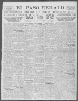 Primary view of object titled 'El Paso Herald (El Paso, Tex.), Ed. 1, Wednesday, January 29, 1913'.