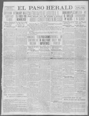 Primary view of object titled 'El Paso Herald (El Paso, Tex.), Ed. 1, Tuesday, February 4, 1913'.