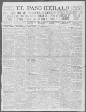 Primary view of object titled 'El Paso Herald (El Paso, Tex.), Ed. 1, Friday, February 7, 1913'.