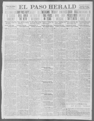 Primary view of object titled 'El Paso Herald (El Paso, Tex.), Ed. 1, Saturday, March 1, 1913'.
