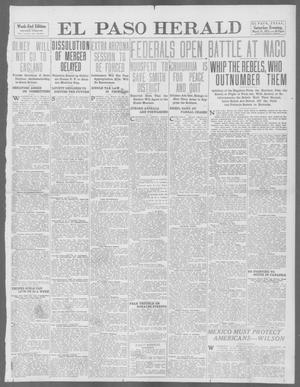 Primary view of object titled 'El Paso Herald (El Paso, Tex.), Ed. 1, Saturday, March 15, 1913'.