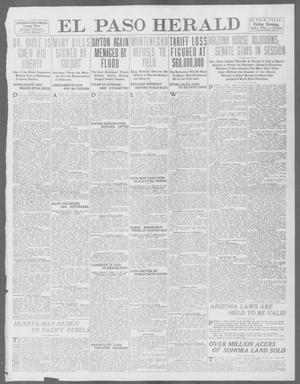 Primary view of object titled 'El Paso Herald (El Paso, Tex.), Ed. 1, Friday, April 4, 1913'.