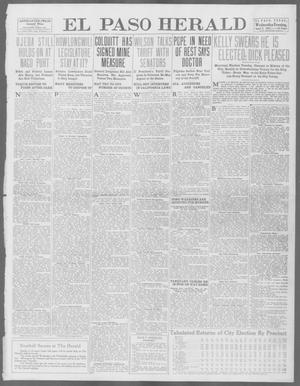 Primary view of object titled 'El Paso Herald (El Paso, Tex.), Ed. 1, Wednesday, April 9, 1913'.