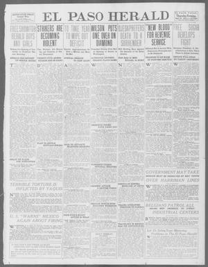 Primary view of object titled 'El Paso Herald (El Paso, Tex.), Ed. 1, Thursday, April 10, 1913'.