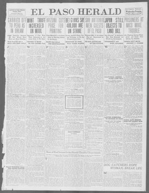 Primary view of object titled 'El Paso Herald (El Paso, Tex.), Ed. 1, Wednesday, April 16, 1913'.