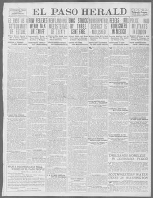 Primary view of object titled 'El Paso Herald (El Paso, Tex.), Ed. 1, Wednesday, April 30, 1913'.