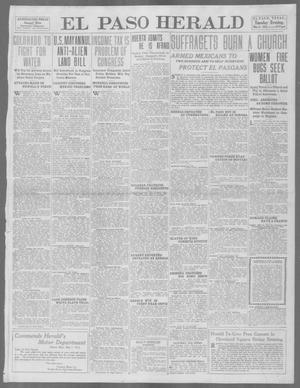Primary view of object titled 'El Paso Herald (El Paso, Tex.), Ed. 1, Tuesday, May 6, 1913'.