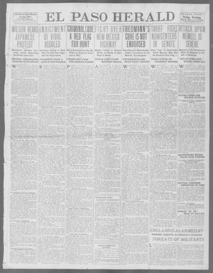 Primary view of object titled 'El Paso Herald (El Paso, Tex.), Ed. 1, Friday, May 9, 1913'.