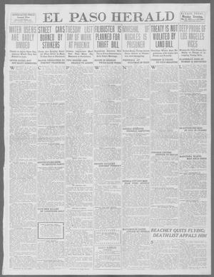 Primary view of object titled 'El Paso Herald (El Paso, Tex.), Ed. 1, Monday, May 12, 1913'.