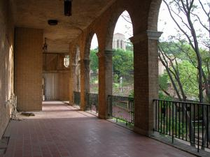 Baker Hotel, Mineral Wells, colonnade