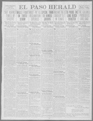 Primary view of object titled 'El Paso Herald (El Paso, Tex.), Ed. 1, Monday, May 26, 1913'.