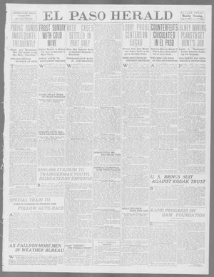 Primary view of object titled 'El Paso Herald (El Paso, Tex.), Ed. 1, Monday, June 9, 1913'.